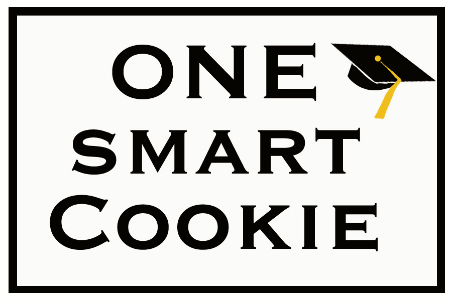 image about One Smart Cookie Printable called My Graduate is A single Intelligent Cookie Loralee Lewis