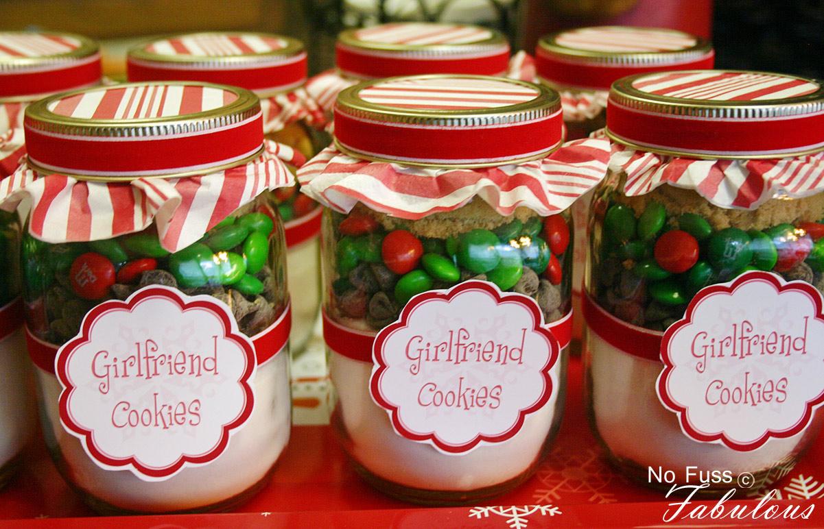 Christmas Girlfriend Cookies In A Jar Loralee Lewis