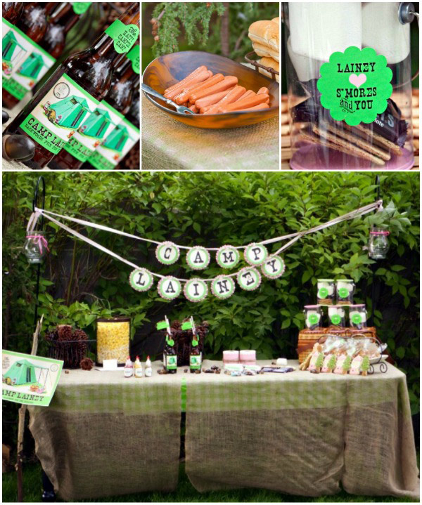 Camping In The Backyard Birthday Party : Lainey?s End of Summer Camp Out by Loralee Lewis ? Loralee Lewis