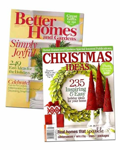 Loralee Lewis Better Homes and Gardens BHG Christmas Ideas 1