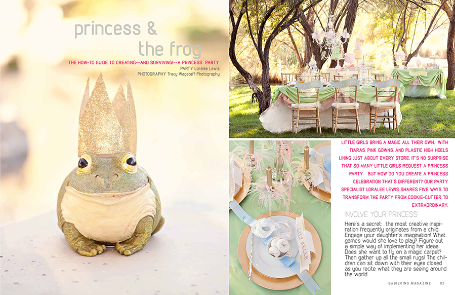 Loralee Lewis - Princess & The Frog Party