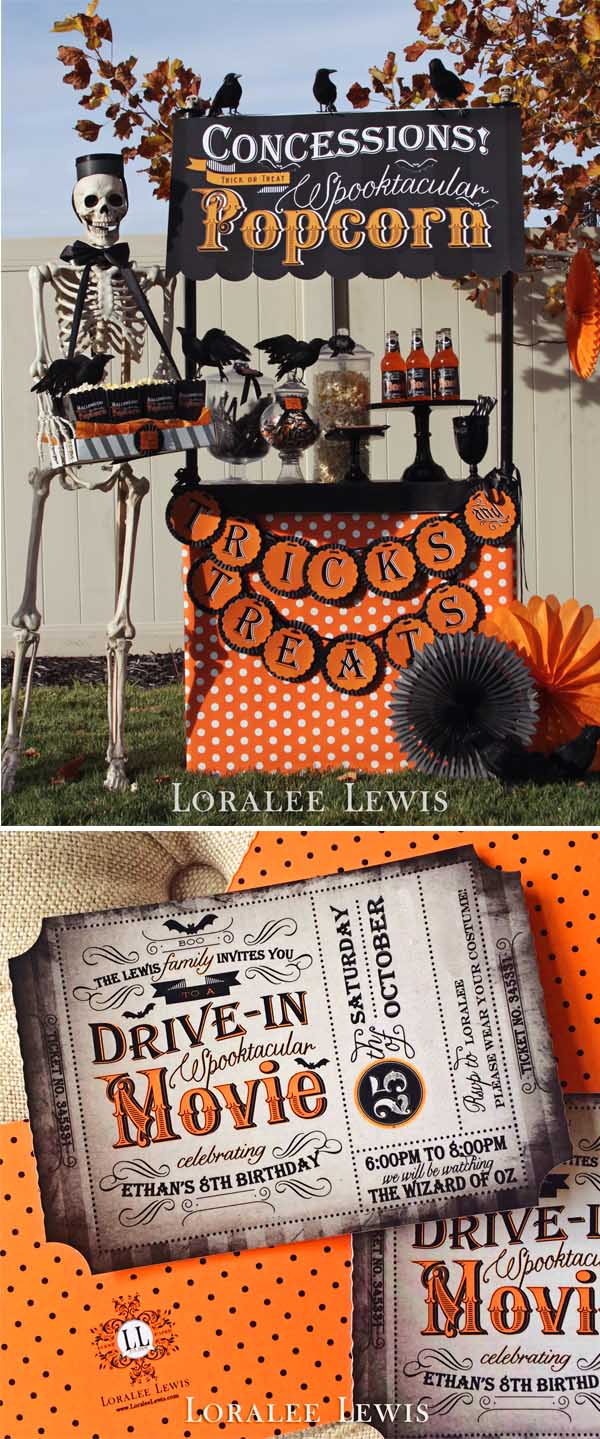 Loralee Lewis Halloween Movie Night