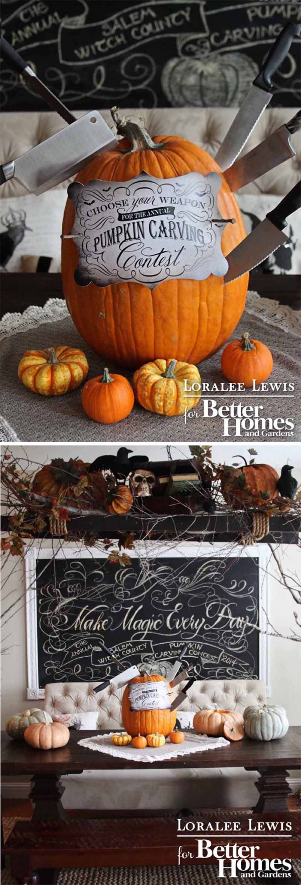 Bhg Halloween Magazine Loralee Lewis Feature Top 10