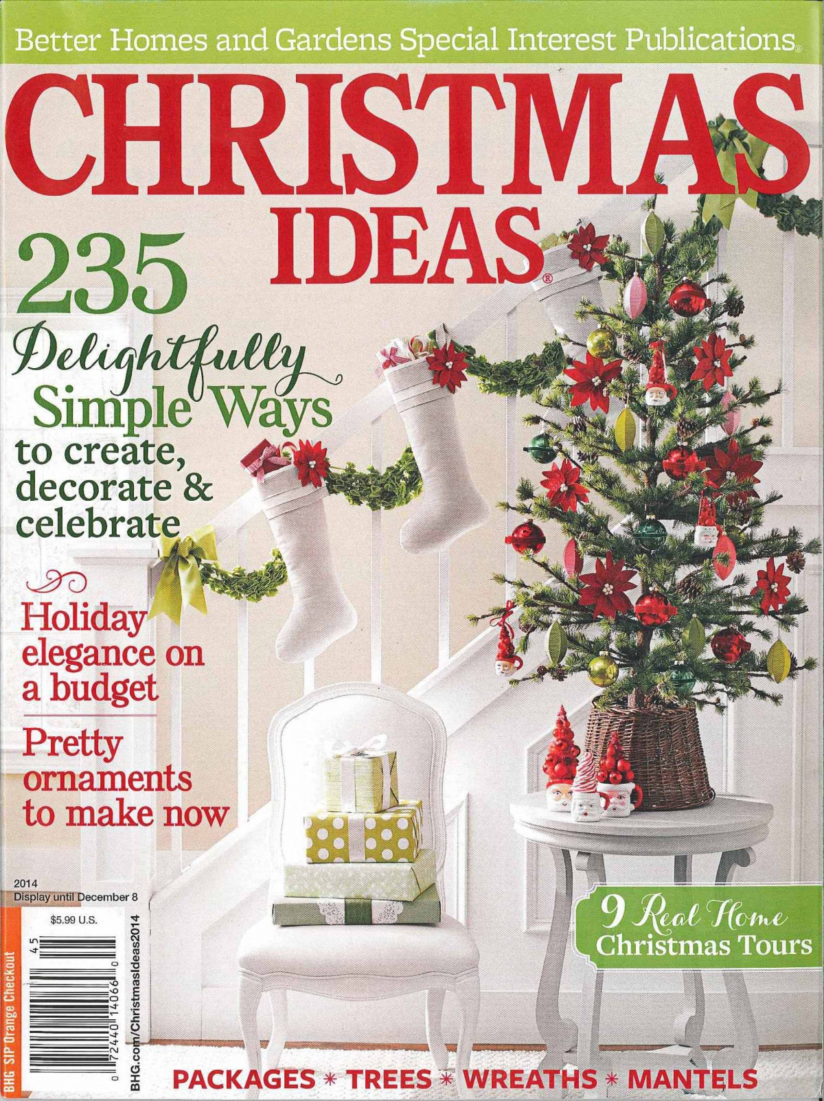 Better homes and gardens christmas ideas loralee lewis Better homes and gardens christmas special
