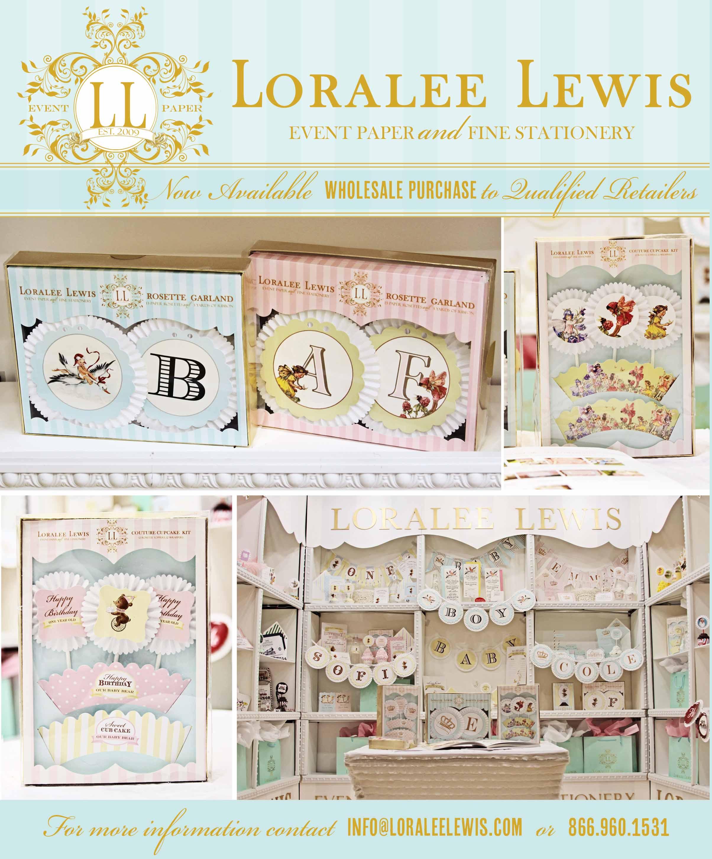 LoraleeLewis Wholesale announcement