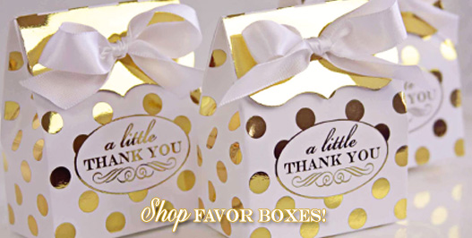 Shop Favor Boxes!