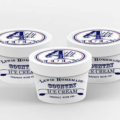 Ice Cream Cartons Frighteningly Fun Collection by Loralee Lewis