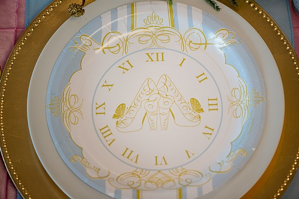 & Cinderella Paper Dinner Plates