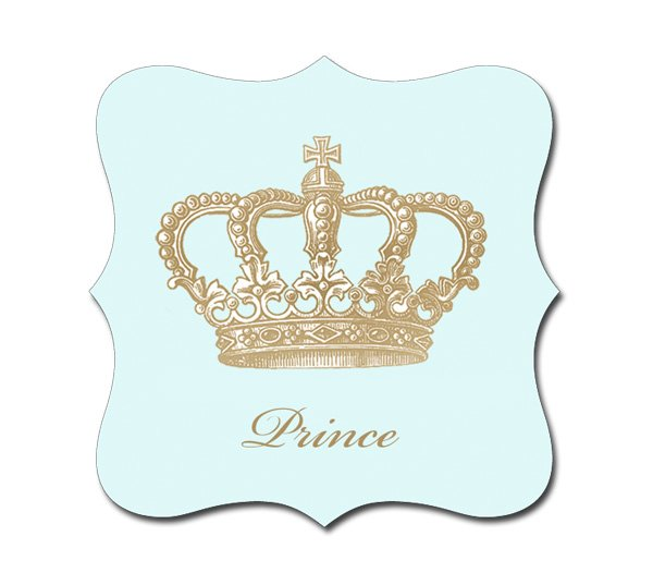 Crown prince luxe shaped stickers